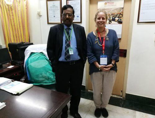 Visiting professor  at Bharath University