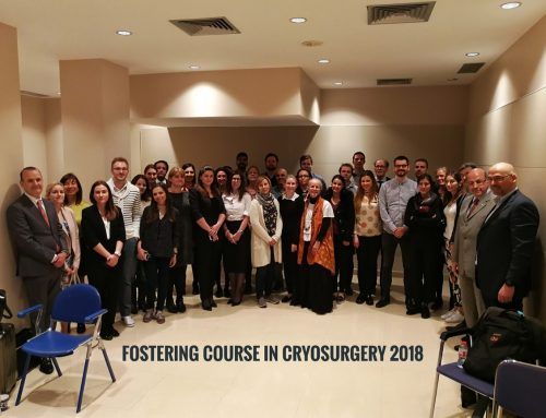 Fostering Course in Cryosurgery, Barcelona 2018