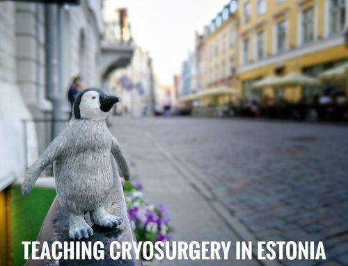 Curso de criocirugia, Tallin (Estonia)