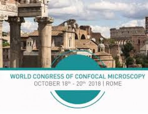 World Congress of Confocal Microscopy, Rome Oct 2018