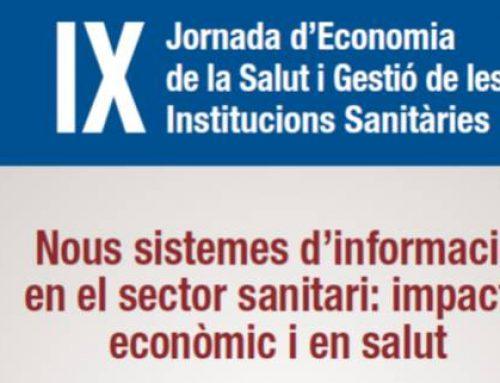 IX Jornada d'Economia de la Salut i Gestió de les Institucions Sanitàries , Reus
